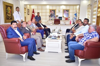 Ak Vekil Akay'dan Başkan Atilla'ya Ziyaret