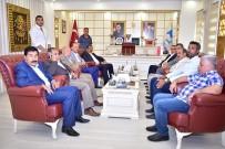 AHMET AKAY - Ak Vekil Akay'dan Başkan Atilla'ya Ziyaret