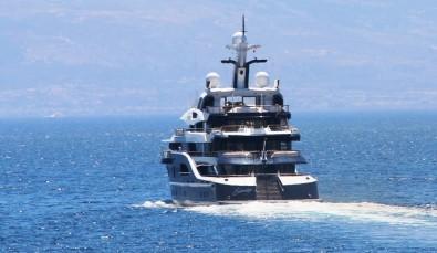 Haftalık kirası 1 milyon Euro olan mega yat Bodrum'da
