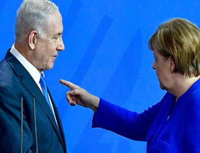 Netanyahu Merkel'i ikna edemedi