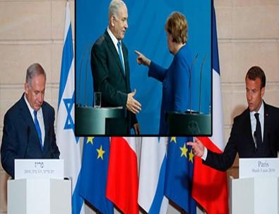 Netanyahu İran Konusunda Macron'u Da İkna Edemedi