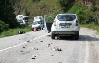 Cip İle Çarpışan Motosiklet Sürücüsü Öldü