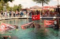 Dalgıçlar 15 Temmuz Şehitleri İçin Suya Daldılar