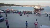 ELİF CANAN TUNCER ERSÖZ - Enez'de Trol Tekneleri İle Avlananlara Tepki