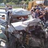 Artvin'deki Kazada Acil Tıp Teknikeri Ağır Yaralandı