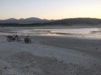 Günyüzü Barajı Kurudu, Balıklar Karaya Vurdu