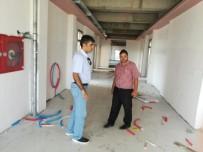 Müdür Çatkılı 15 Temmuz Mesleki Ve Teknik Anadolu Lisesi Binasında İncelemede Bulundu