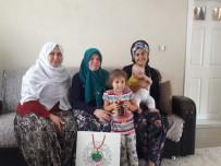Sarıcakaya'da 'Hoş Geldin Bebek' Ziyaretleri Sürüyor