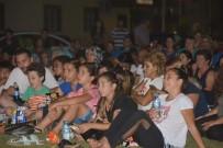 DEMET EVGAR - Aliağa'da Açık Yaz Sinema Günlerine Yoğun İlgi