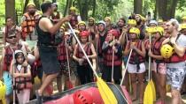 Rafting Tesislerinde Hafta Sonu Yoğunluğu