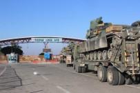 ROKETATARLAR - Suriye sınırına yoğun askeri sevkıyat