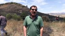 Tunceli'de Buğday Ve Arpa Ekili Alanda Yangın