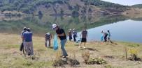 Hocalar Devlethan Barajı Çevresinde Temizlik Çalışması