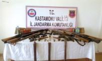 Jandarma Ekiplerinden Kaçak Silah Operasyonu