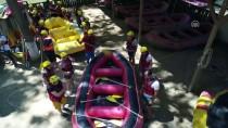 Yaz Yağmurları Raftingcilere Yaradı