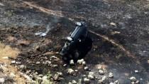 Şarampole Devrilen Otomobil Alev Aldı Açıklaması 2 Yaralı