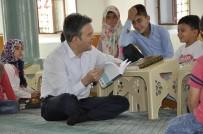 Başkan Tütüncü'den Kur'an Kursu Ziyaretleri Ve Kur'an-I Kerim Hediyesi