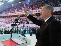 AK PARTİ KONGRESİ - Cumhurbaşkanı Erdoğan yeniden genel başkan oldu