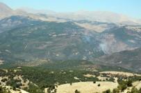 Tunceli'de Ormanlık Alandaki Örtü Altı Yangını