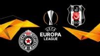 UEFA AVRUPA LIGI - Partizan: 1 - Beşiktaş:1 (Maç sonucu)