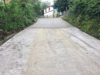 ASLANCAMI - Aslancami'de Beton Yol İnşaatı Tamamlanıyor