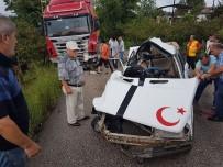 OLGUN ŞİMŞEK - Fatsa'da Trafik Kazası Açıklaması 1 Ölü