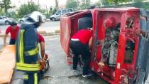 ÖMER TARHAN - Kadirli İtfaiyesinden Araç Yangını Tatbikatı