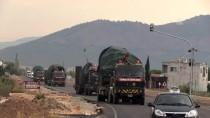 FIRTINA OBÜSÜ - Sınıra tank ve Fırtına Obüsü sevkiyatı