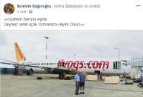 İBRAHIM SAĞıROĞLU - Pistten Çıkan Uçak 'Millet Kıraathanesi' Oluyor