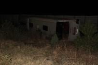Afyonkarahisar'da Otobüs Kaza Yaptı Açıklaması 2 Ölü, 30 Yaralı