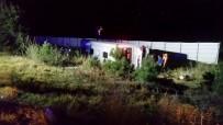 Afyonkarahisar'daki Otobüs Kazasında Ölen Ve Yaralananların Kimlikleri Belli Oldu