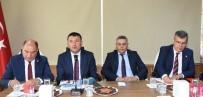 TAHSIN TARHAN - CHP Heyetinden MTSO'ya Ziyaret