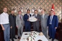 CEMAL HÜSNÜ KANSIZ - Kaymakam Kansız'a İlk Ziyaret Başkan Çelik'ten