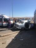Kayseri'de Trafik Kazası Açıklaması 1 Ölü, 5 Yaralı