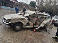 Manisa'da Trafik Kazası Açıklaması 1 Ölü, 6 Yaralı