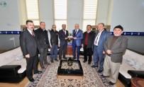 CEM ZORLU - Başkan Özaltun'dan Rektör Zorlu'ya Ziyaret