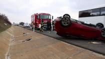 OSMAN DURMAZ - Tekirdağ'da Otomobil Devrildi Açıklaması 2 Yaralı