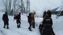 Karda Mahsur Kalan Hasta, Ekiplerin 5 Saatlik Çalışmasıyla Kurtarıldı