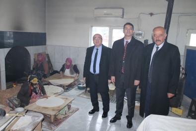 KAYÜ Rektörü Karamustafa, Özvatan Belediye Başkanı Demir'i Ziyaret Etti