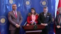 ÖZEL AMBULANS - Büyükelçi Yörük, Türkiye'de Ameliyat Edilen Arnavut Polisi Kabul Etti