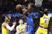 CHESAPEAKE ENERGY - Los Angeles Lakers, Oklahoma City Deplasmanında Uzatmada Güldü