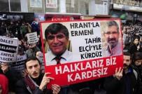 HRANT DİNK - Hrant Dink, Agos Gazetesi Önünde Anıldı