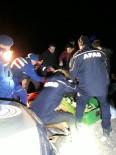 Artvin'de Kamyonet Dereye Yuvarlandı Açıklaması 1 Ölü, 2 Yaralı