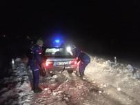 Tipide Mahsur Kalan 14 Kişi Jandarma Tarafından Kurtarıldı