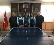 HAKAN BALTA - Şaphane 75. Yıl Ortaokulu Öğrencileri, Masa Tenisinde Şampiyon