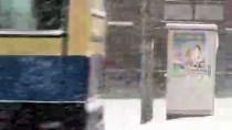 ERCAN ÖTER - Kars'ta Kar Yağışı Ve Tipi Hayatı Olumsuz Etkiledi