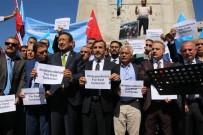 BASIN KURULUŞU - Başkent'te Çin Yönetimi Protesto Edildi