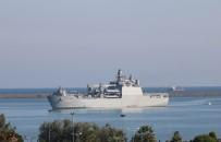 DENIZ HARP OKULU - Denizciler Samsun'a Çıkarma Yaptı