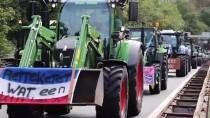 LAHEY - Hollanda'da Çiftçilerden Hükümetin Tarım Politikasına Protesto