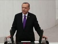 TBMM - Cumhurbaşkanı Erdoğan'dan Fırat'ın doğusuna harekat mesajı